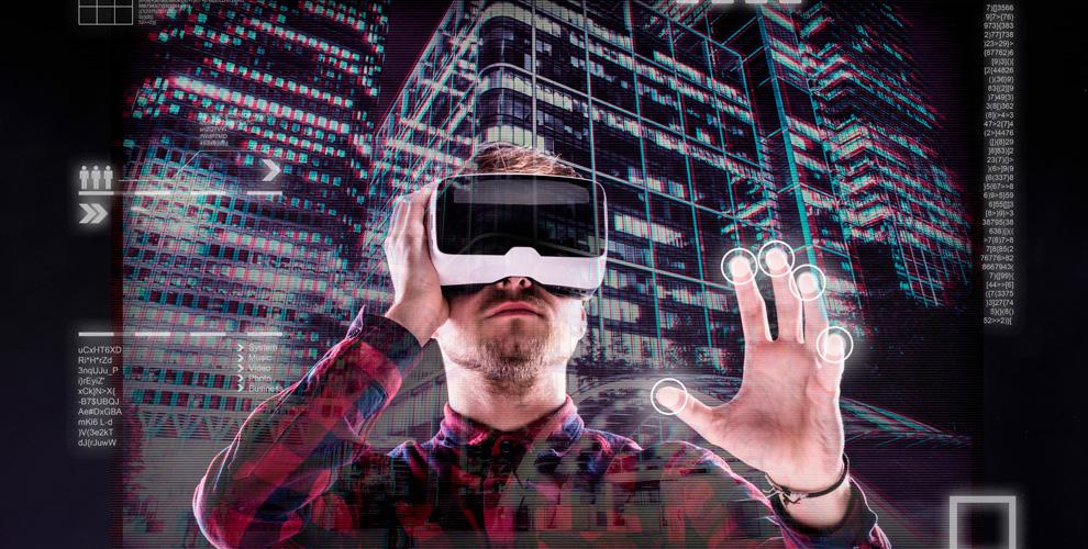 Игры в шлеме виртуальной реальности в клубе «Мир VR»