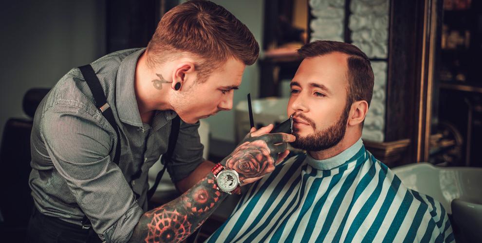 Барбершоп OldBoy вКузьминках: стрижки, «Королевское бритье», коррекция бровей