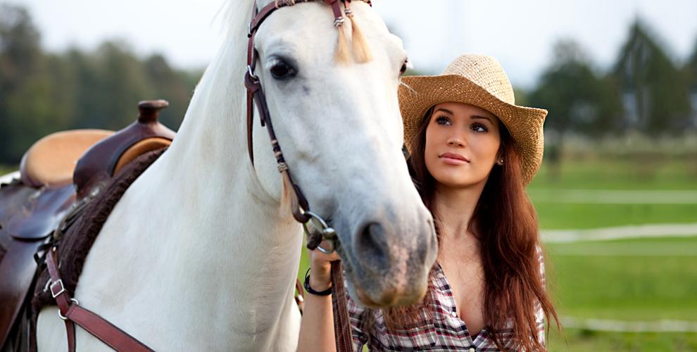 Аренда лошади для фотосессии, верховая езда и конная прогулка в клубе «Усадьба»