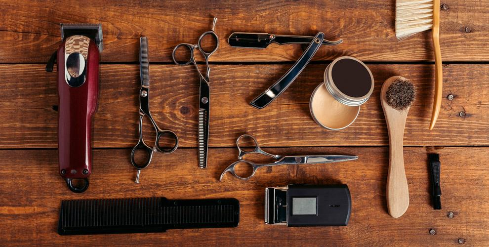 Мужские идетские стрижки, оформление бороды вбарбершопе GROTTE