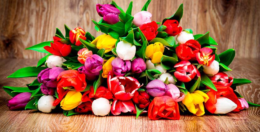 """Розы, тюльпаны, герберы, лилии и букеты от салона цветов """"БукетЭль"""""""