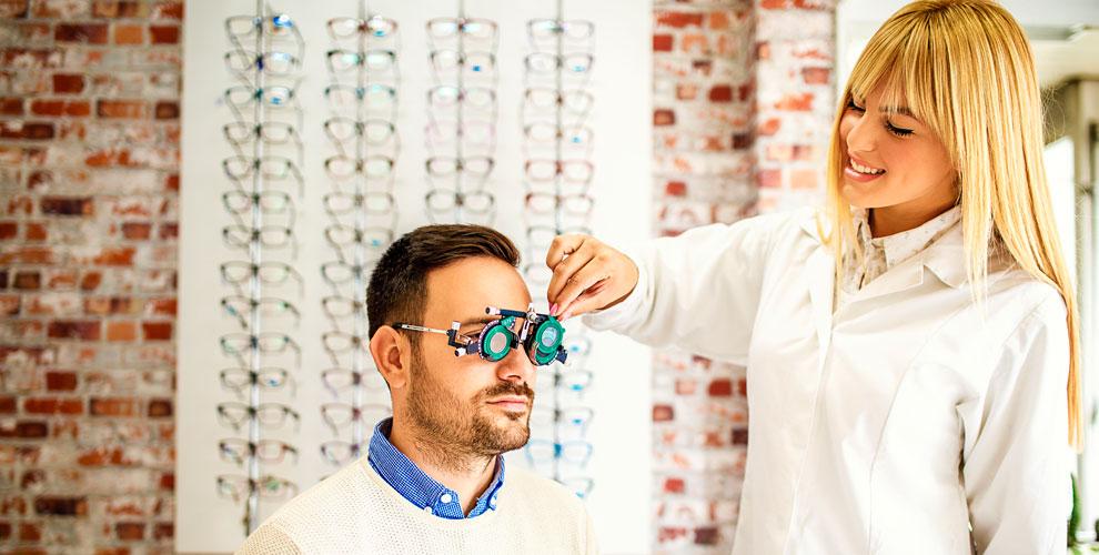 Экспресс-диагностика зрения иочки «подключ» всети салонов «Золотое пенсне»