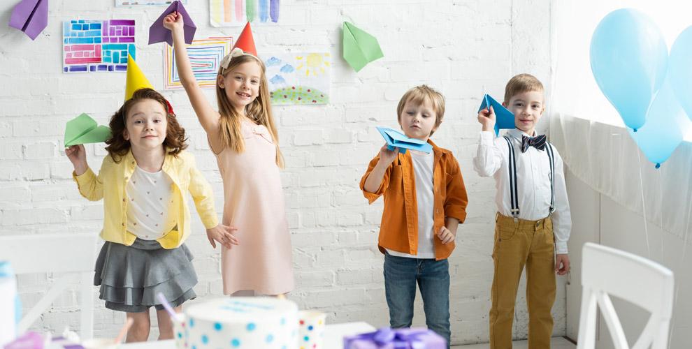 Проведение детского праздника,банкетное меню,посещение игровой комнаты «Чудо Детки»