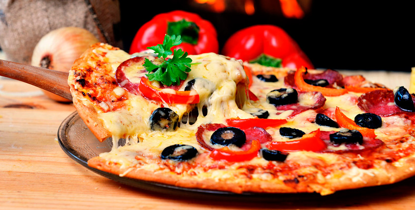 Осетинские пироги, пицца, суши, шашлык и не только от доставки Corleone Food
