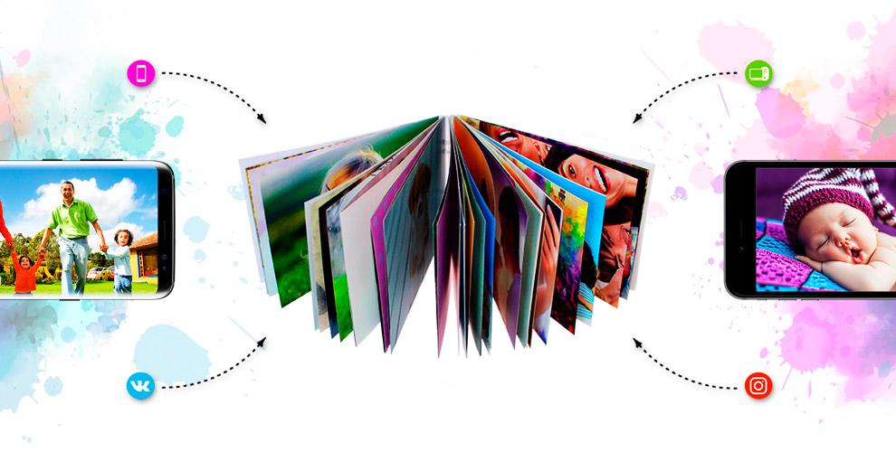 Создание фотоальбома от компании Coverbook