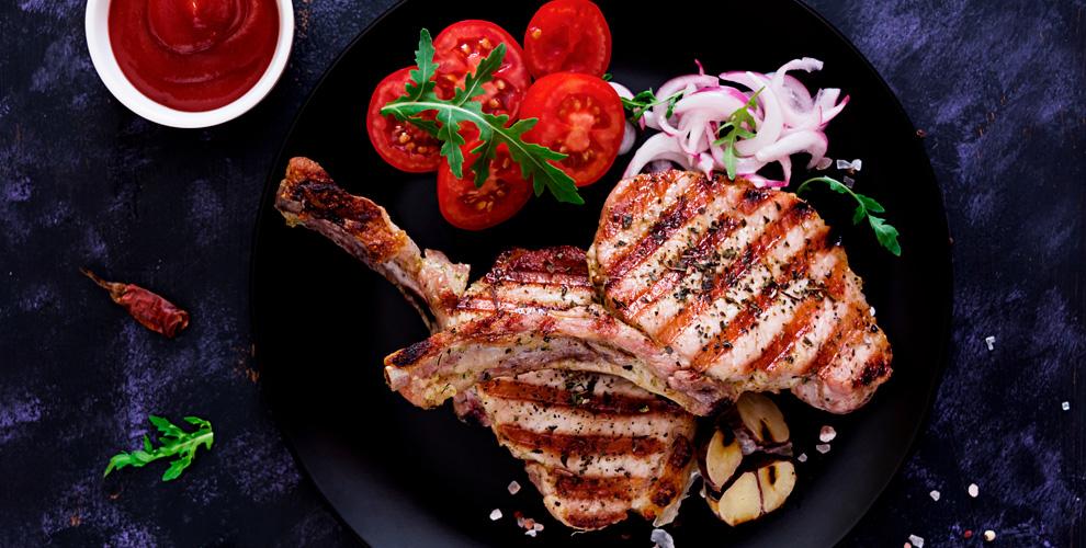 Горячие блюда, супы, салаты, закуски, десерты вресторане «АнтреСоль»