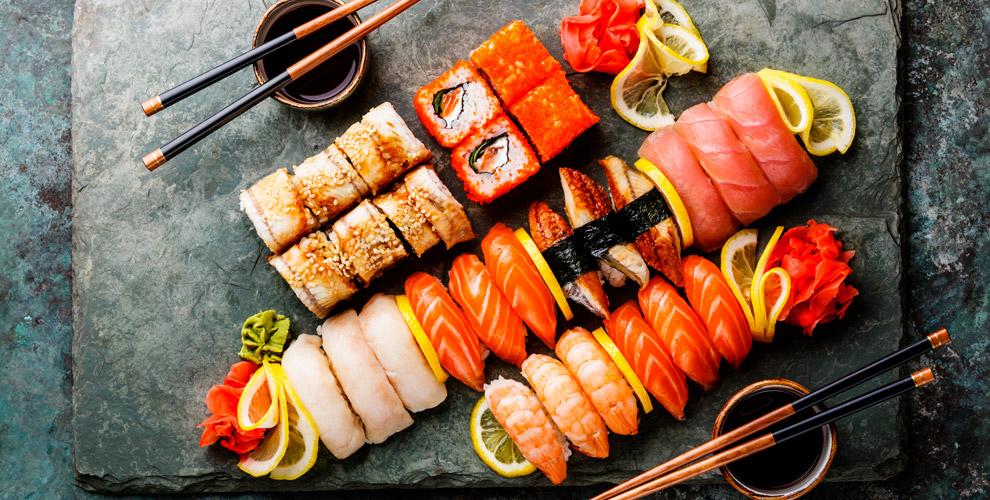 «Будли суши»: меню холодных, темпурных илизапеченных роллов исетов