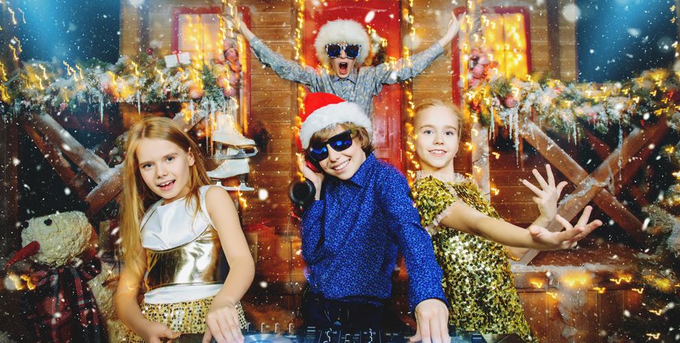 Детский новогодний  корпоратив, проведение днярождения откомпании «Идея»