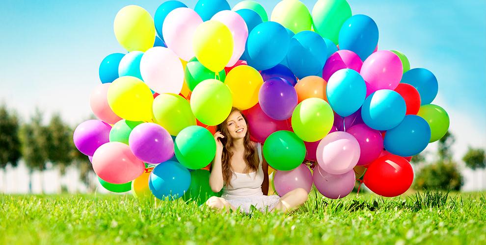 Гелиевые и фольгированные шары от компании «Радуга»