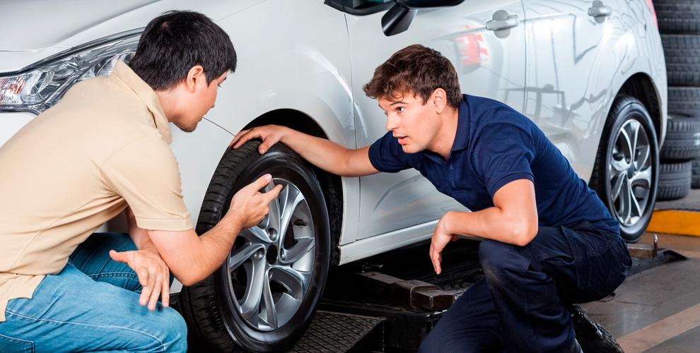 Шиномонтаж колес автомобилей в компании «ЦАО Авто»
