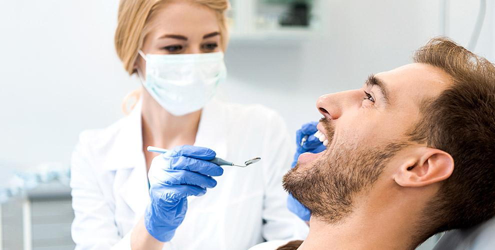 Лечение кариеса, УЗ-чистка зубов иреставрация вклинике «МАКСДЕНТ»