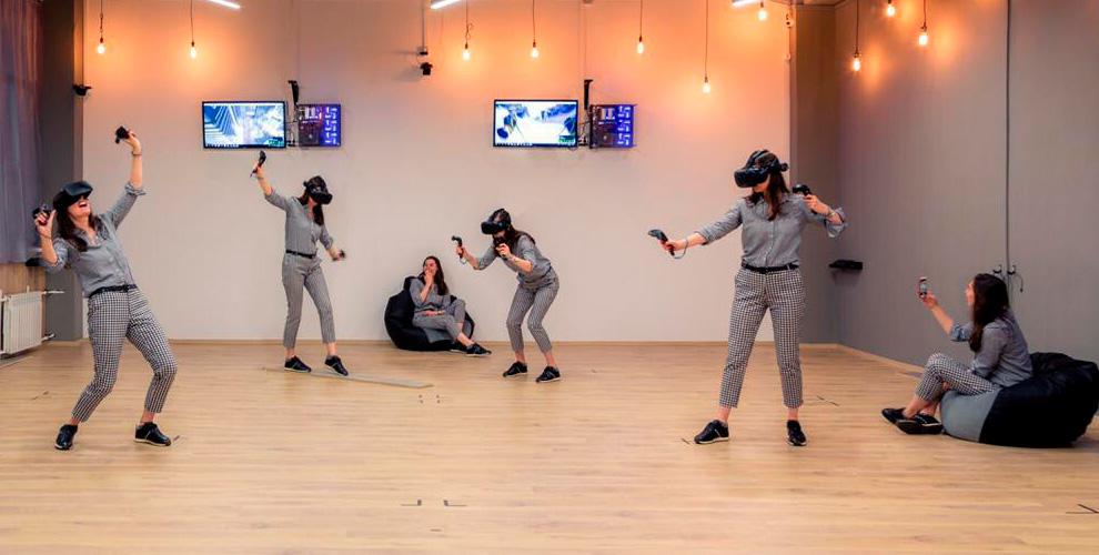 Посещение клуба виртуальной реальности «Первое Виртуальное место»