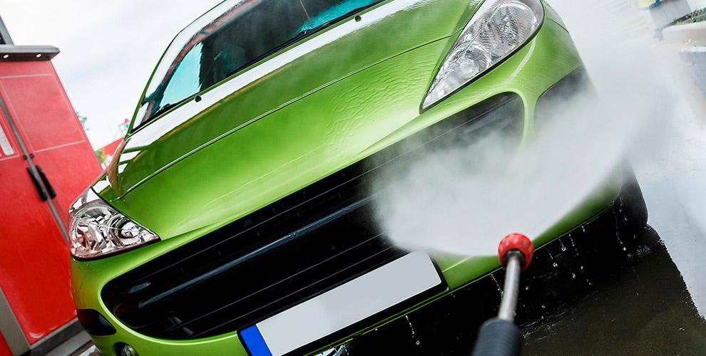 Комплексная мойка, нанокомплекс, химчистка автомобилявавтомойке «Зеленое Яблоко»