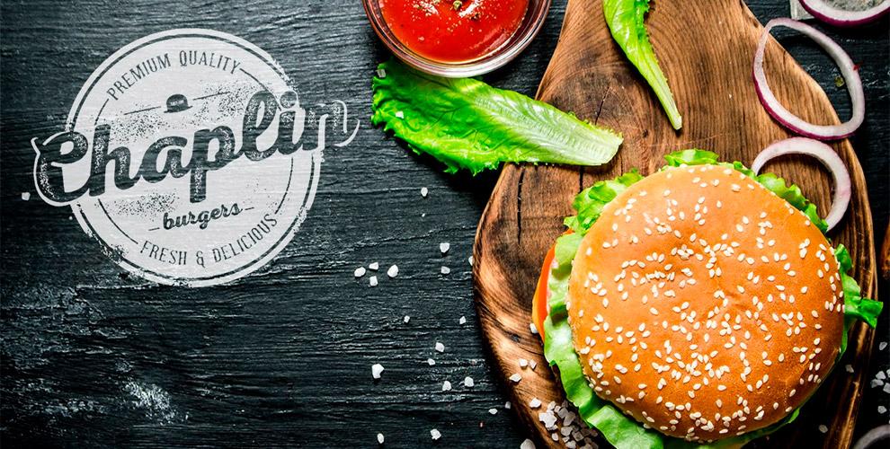 Сочные гамбургеры, крафтовое пенное и фирменные закуски в бургерной Chaplin