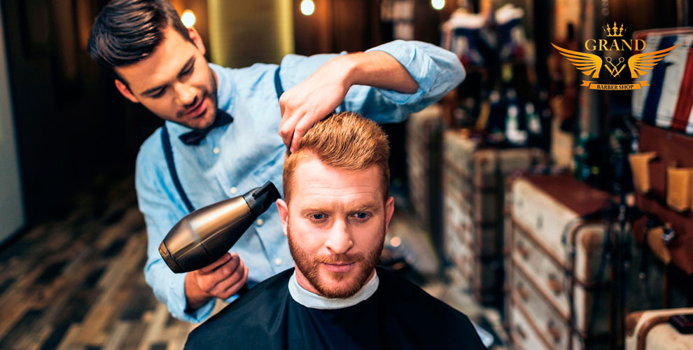 Мужская, детская стрижки и оформление бороды в барбершопе Grand