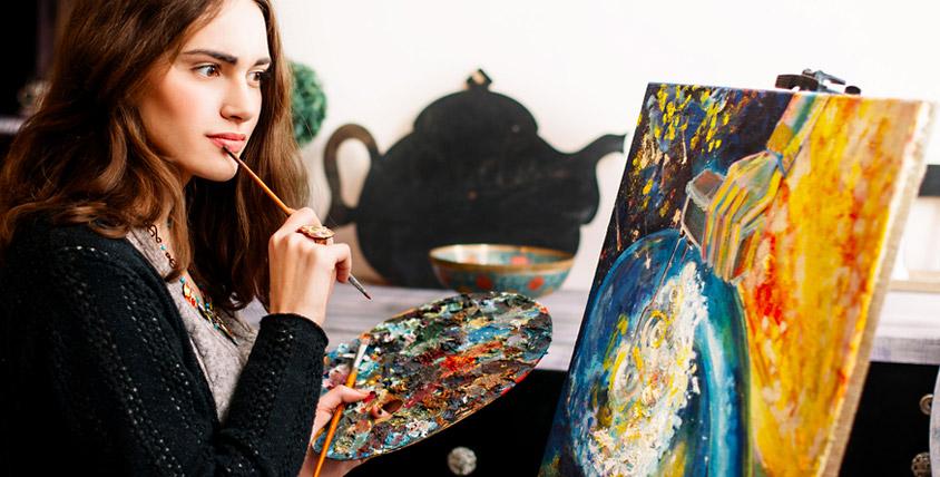 """Бесплатная лекция """"Теория цвета"""" в арт-студии Volchok Studio"""