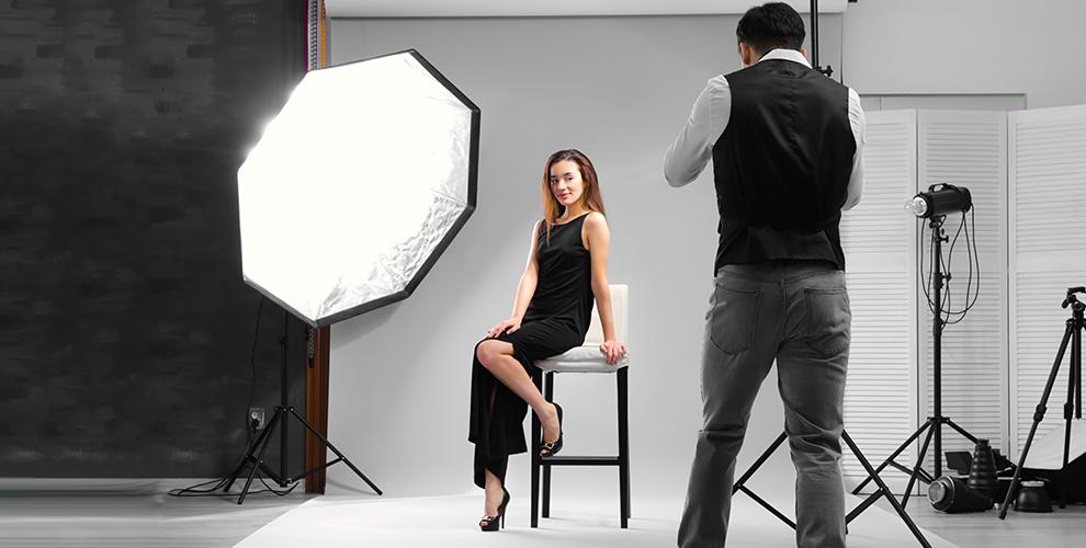 Профессиональная студийная съёмка в сети фотостудий ODELING STUDIO
