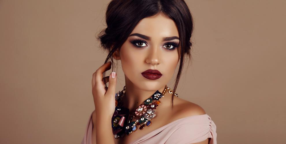 Оформление, окрашивание бровей и вечерний макияж от мастера-бровиста Ольги Цыбуляк