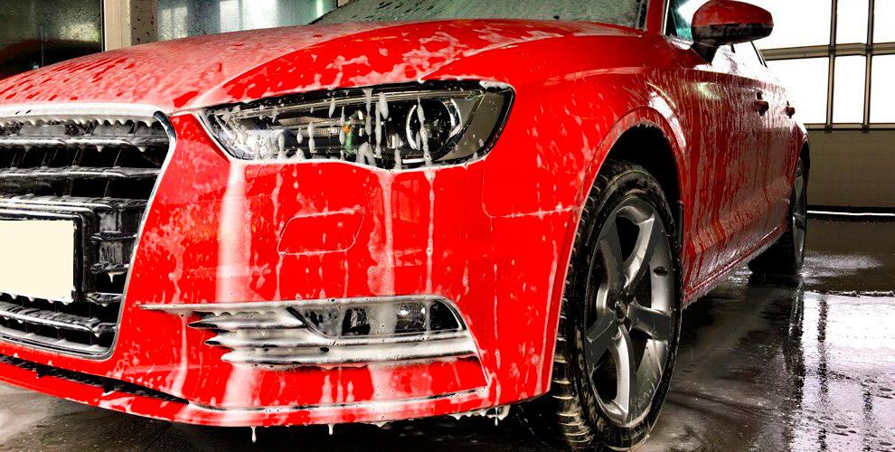 Комплексная мойка для автомобилей всех категорий в автосервисе «Вознесенка»