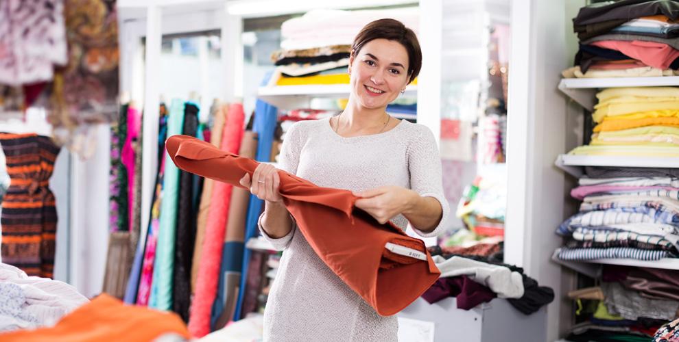 Трикотажные, кружевные и другие ткани производства Италии в магазине «5 сезонов»