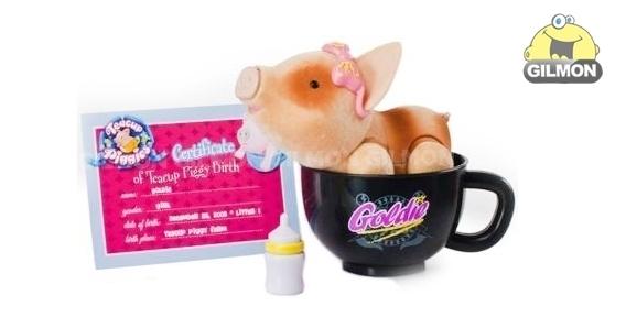 Пигис милашки Toy Teck LTD Купить Teacup Piggies Той