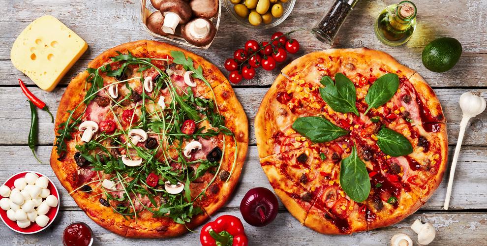 Разнообразная пицца навыбор