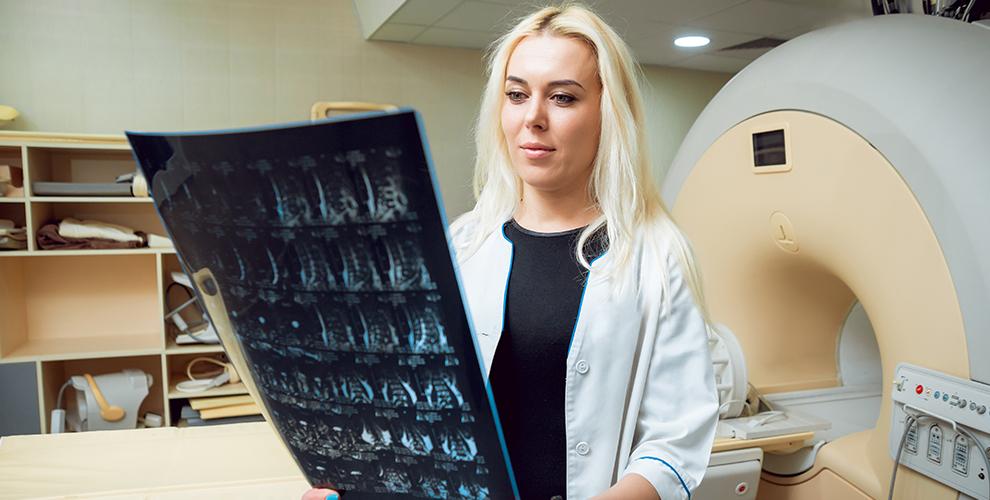 МДЦ«Луч»:МРТпридаточных пазух, шейного, грудного ипоясничного отдела позвоночника