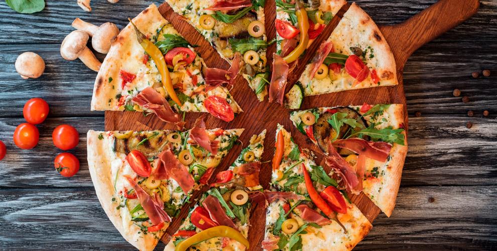 Пицца разных размеров откомпании ILike Pizza