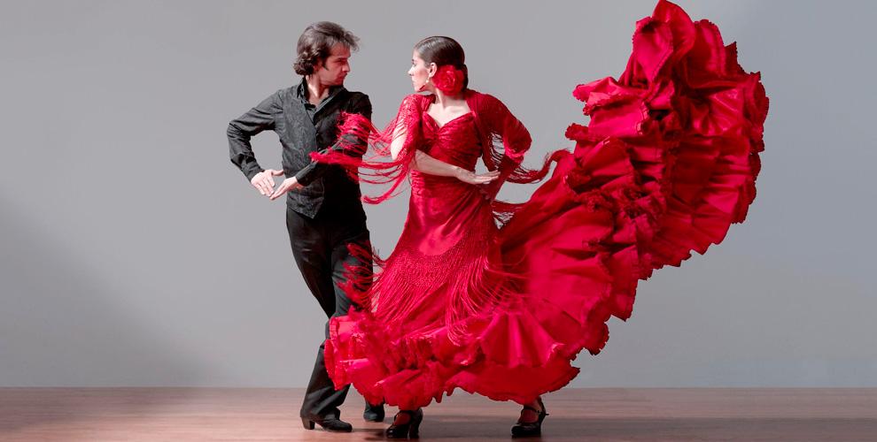 Занятия фламенко в школе El Puerto