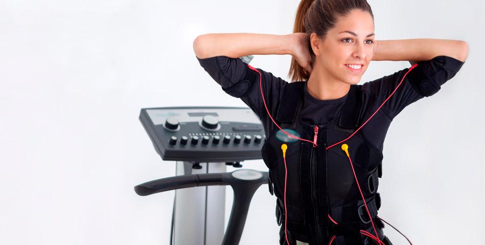 Фитнес-тренировки наEMS-тренажере вцентре экстремального похудения «Бамбук»