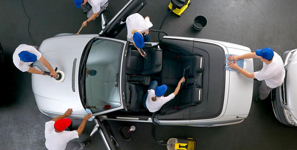 Автомойка Avtolux78: комплексная химчистка салона и багажника