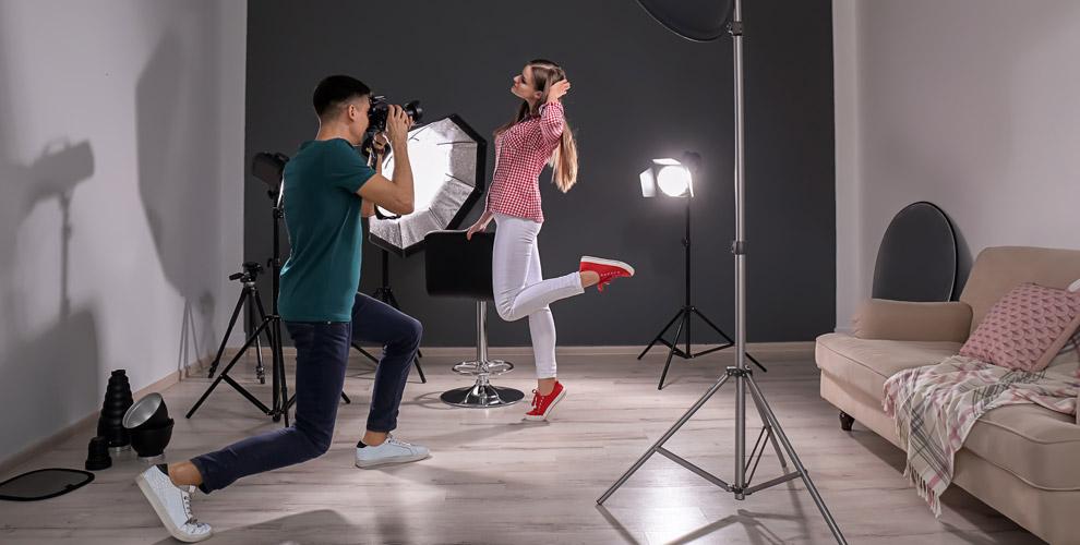 «Щучий хвост»: студийная фотосессия иаренда фотостудии