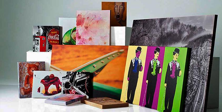 Квадратная и прямоугольная печать фотографий и картин на холсте в студии Mona Lisa