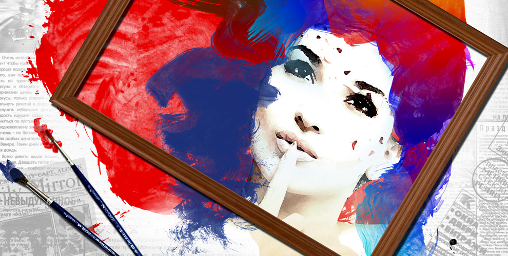 Изготовление картины пономерам сизображением илифото от«FotoАтелье»
