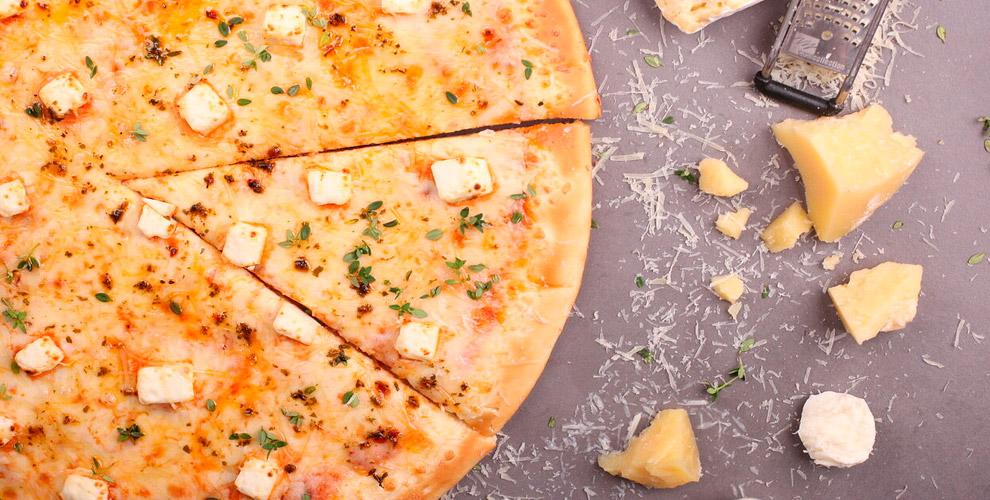 YesPizza: пиццы «Трисыра», «Маргарита», «Мясная», «Барбекю» и«Гавайская»