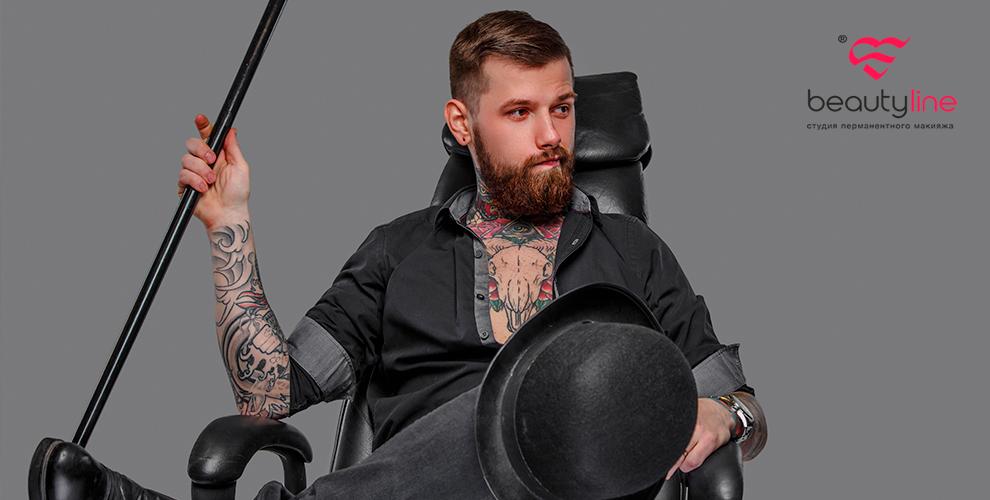 Художественные тату и тату в виде надписи в студии Beauty Line