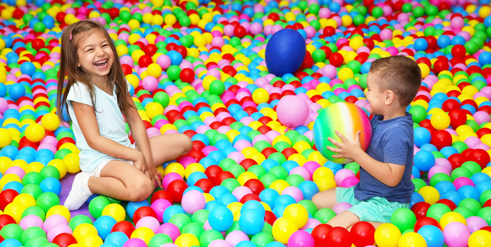 Безлимитное посещение детской игровой площадки Happy Land