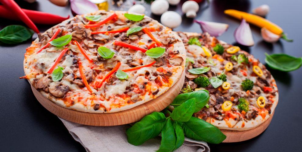 Разнообразное меню пиццы отслужба доставки «Кушай Суши ипиццу»