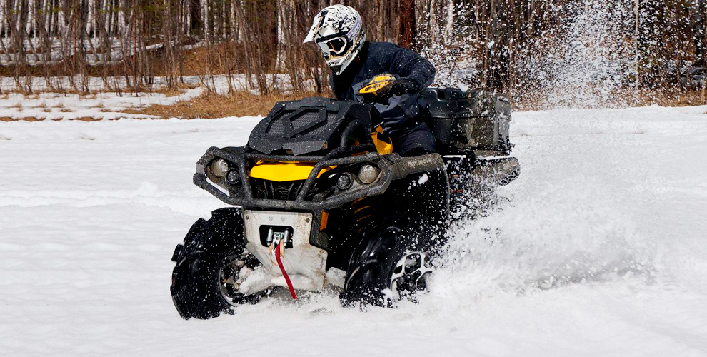 Катание на квадроцикле и снегоходе от компании QuadroRent