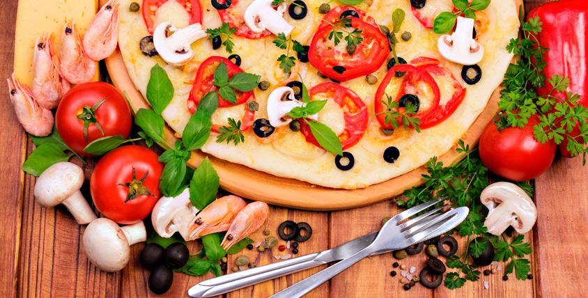 Ароматная пицца и осетинские пироги от службы доставки Ossetian Pie