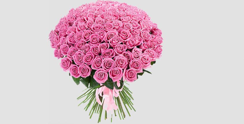 """Букеты из роз и цветы в ассортименте от сети салонов """"Лаванда"""""""