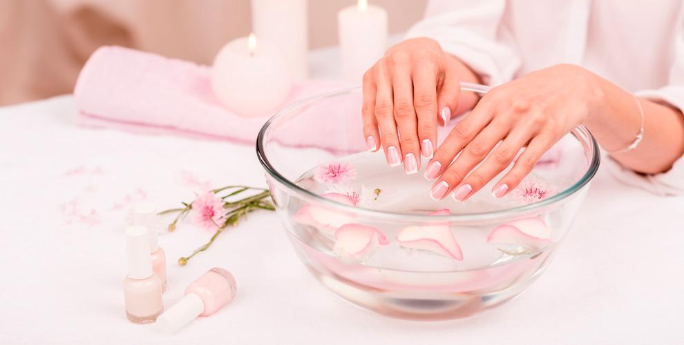 «Нежность»: маникюр, парафиновое обертывание, наращивание ресниц, макияж, шугаринг