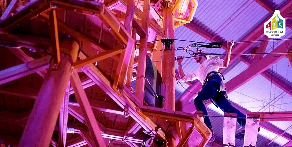 Посещение квест-вечеринки «Ночь на высоте» в ТРК «Питерлэнд»