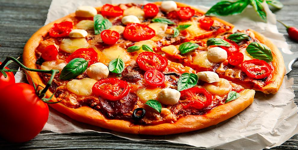 Пицца, роллы, бургеры, горячие блюда, десерты и напитки от службы доставки TaxoPizza