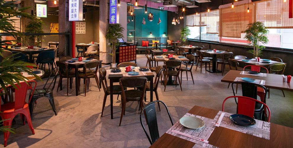 Пельмени, закуски, салаты идесерты вресторане «Китайские новости» вМарьино