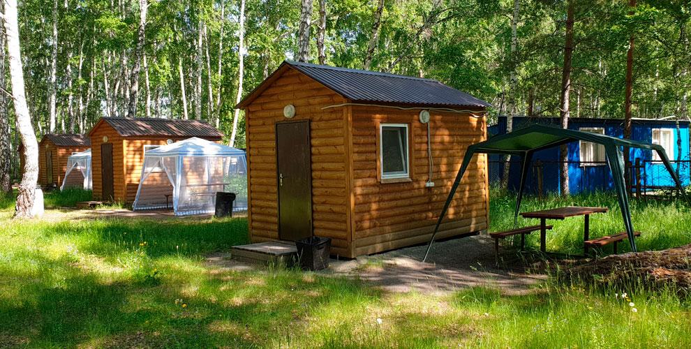 База отдыха «Березовая роща»: проживание влетних домиках, палатке, аренда беседки