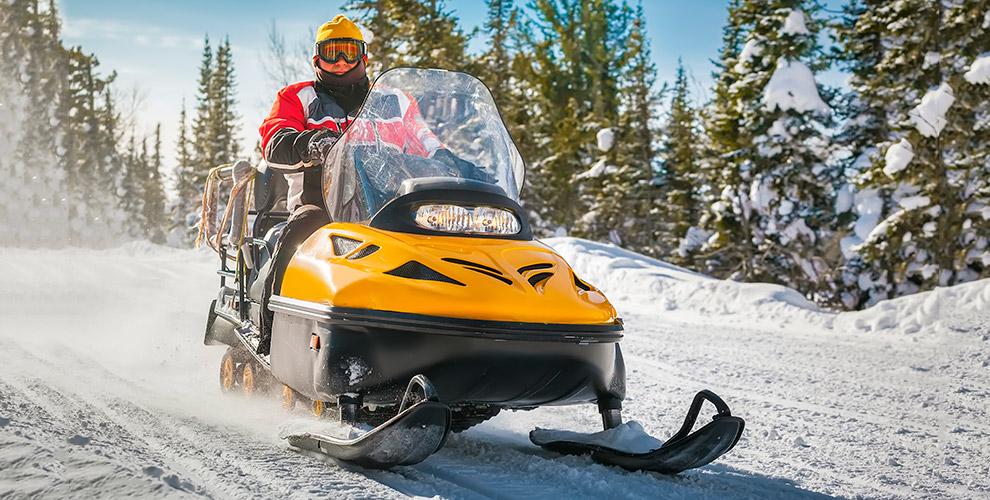 Катание на снегоходе от Центра активного отдыха