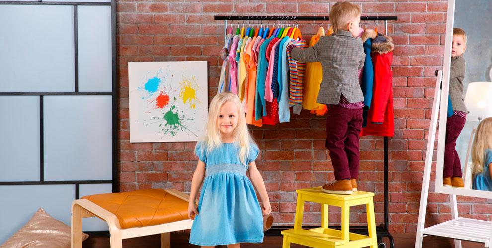 Ассортимент детской одежды ислаймов вмагазине «КрутоДетки»