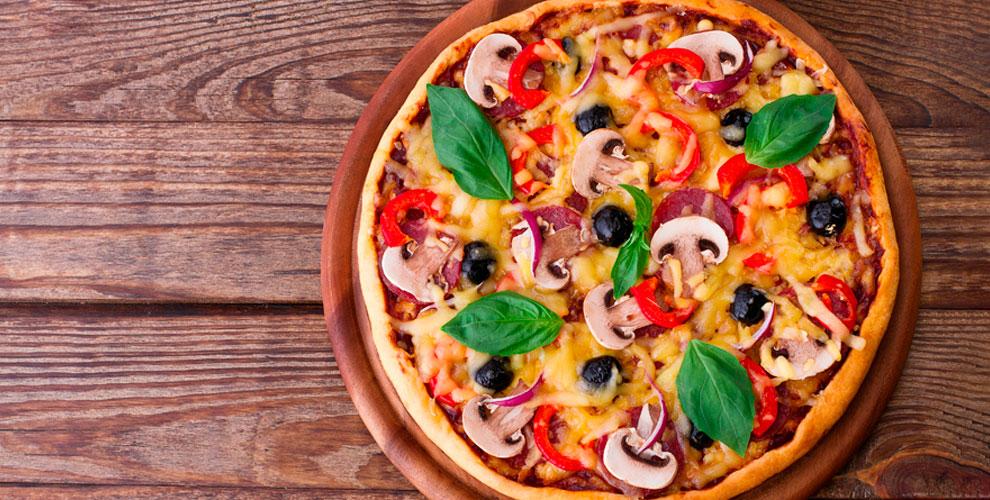 Меню пиццы отресторана доставки Tomato Pizza