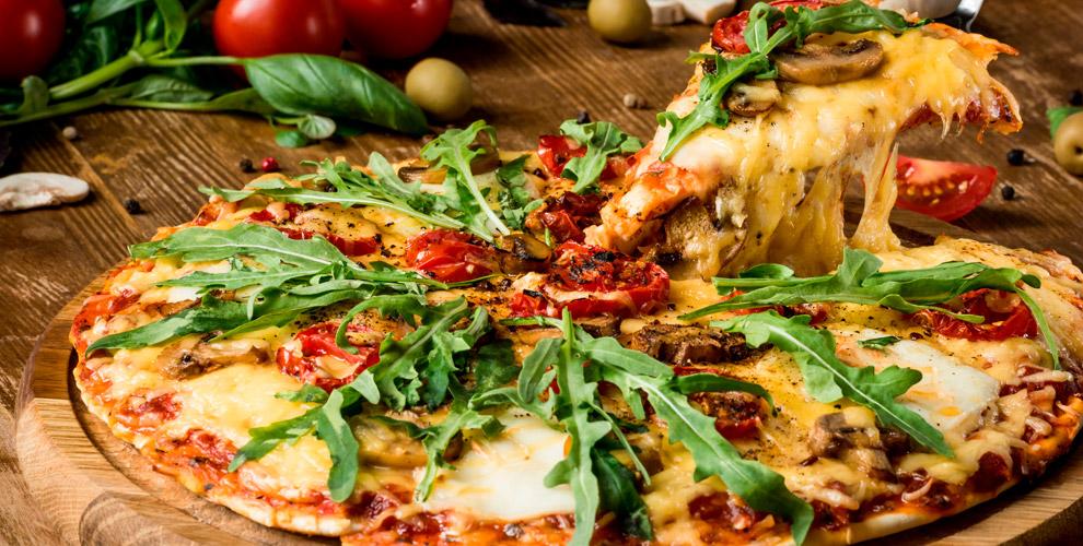 Меню пиццы иосетинских пирогов откомпании «Вершина Вкуса»